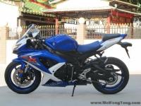 新到2008年3月铃木GSX-R600 K8蓝白色《自家的货 接受预定》