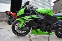 现货销售 2009款川骑l绿色忍者ZX-6R