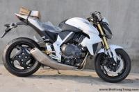 新到碣石2012款全新本田CB1000R 變異白色大黃蜂