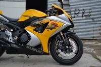 2007款铃木GSX1000 铃木大R K7 黄色 带银边不到七千公里