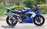 2003款藍色雅馬哈YZF-R1 車況極佳,成色好,先到先得