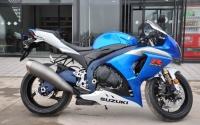 2011年蓝白铃木大R GSX-R1000原版原漆成色新,先到先得