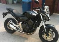 新到2012款本田CB600本田600cc小黄蜂 欧版芯片防盗钥匙 黑色原漆
