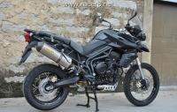 2012款新凯旋TRIUMPH TIGER 800XC 凯旋老虎 黑色可秒杀宝马的中量级街车