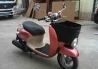 新到2011款 雅马哈VINO50 菜篮子 粉色