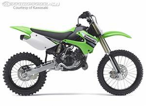 川崎KX100摩托车