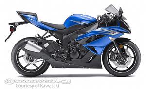 川崎Ninja ZX-6R摩托车