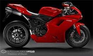 杜卡迪1198摩托车