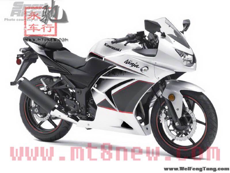 全新川崎小忍者 Kawasaki Ninja250R 接受预定 Ninja 250R图片 3