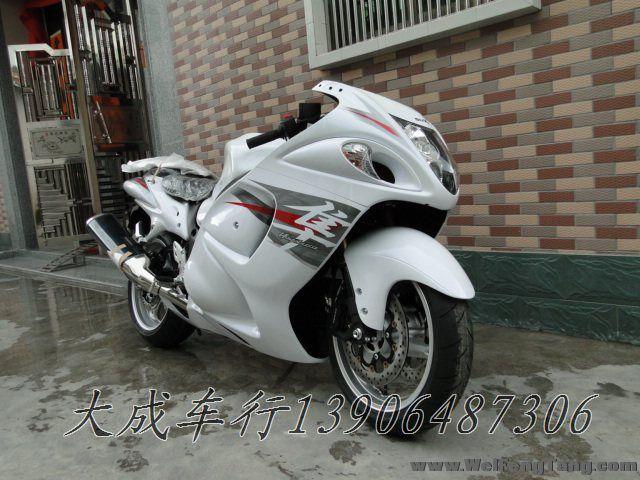 """【全新铃木跑车】2012年全新白色-黑色铃木超级跑车GSX1300R""""隼""""Hayabusa 图片 1"""
