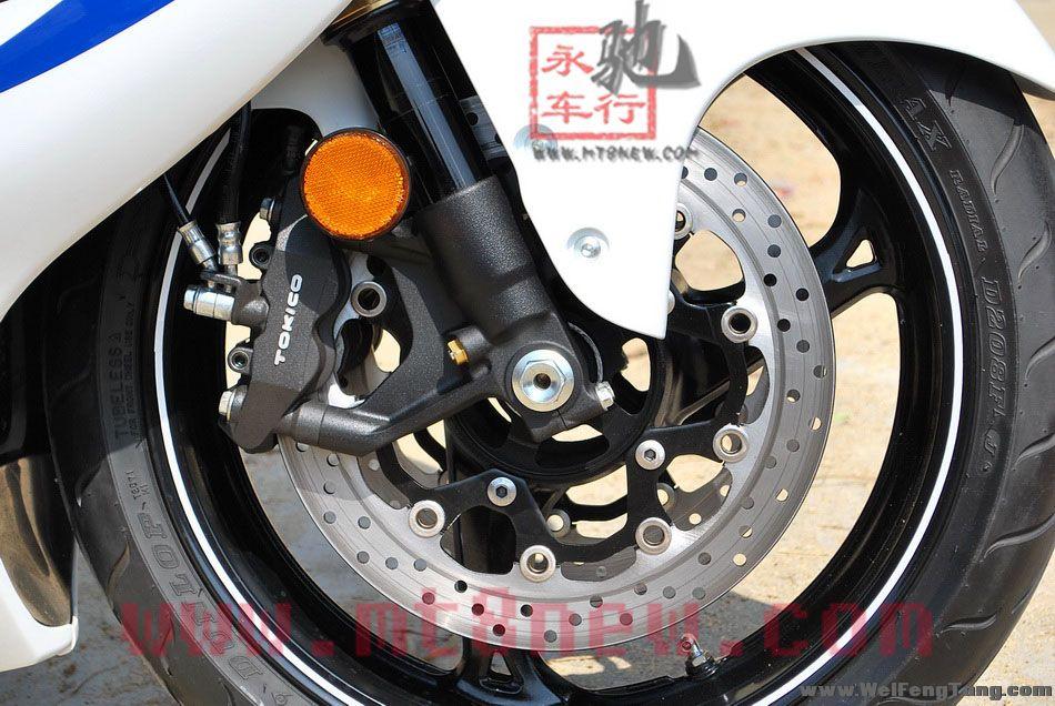 现货销售:2008年铃木GSX1300R K8隼 白色 Hayabusa图片 1