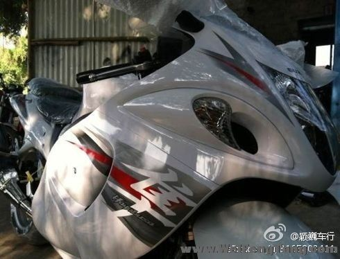 2012年全新铃木隼 白色 GSX1300  hayabusa Hayabusa图片 3