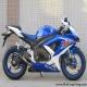 2008款 鈴木GSX-R600 小R K8 藍白色0