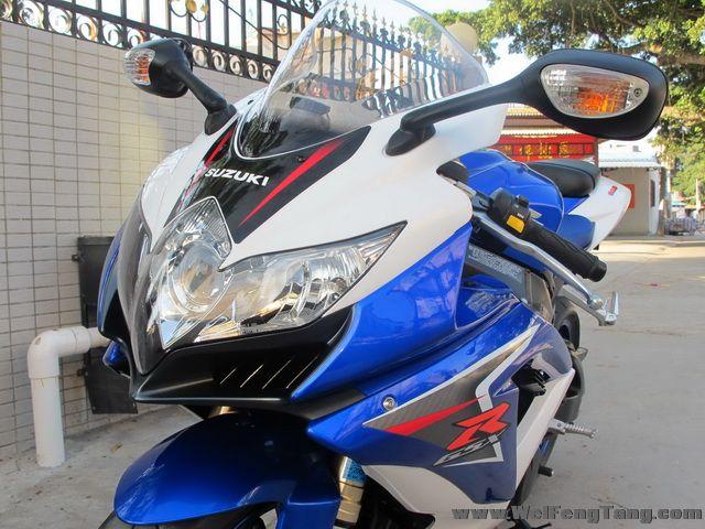 2008款 铃木GSX-R600 小R K8 蓝白色 GSX-R600图片 2