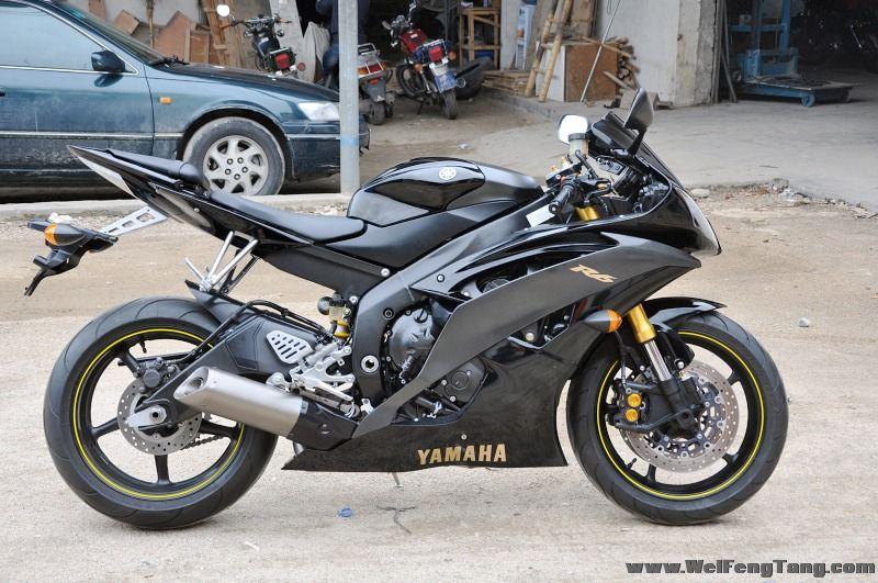 完美到货 2008雅马哈 美版YZF-R6 五万余元 图片 1