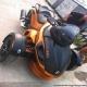 北京现货 2011款全新庞巴迪三轮Can-Am Spyder 纪念版 橘色 黑色0