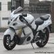 2008款铃木隼GSX1300R ,改装碳纤维吉村排气 白色喷漆 6000多公里 成色新2