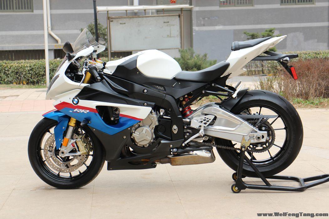 2010款宝马s1000rr,蓝白 可调节四种动力模式 另附高清实车图片 图片