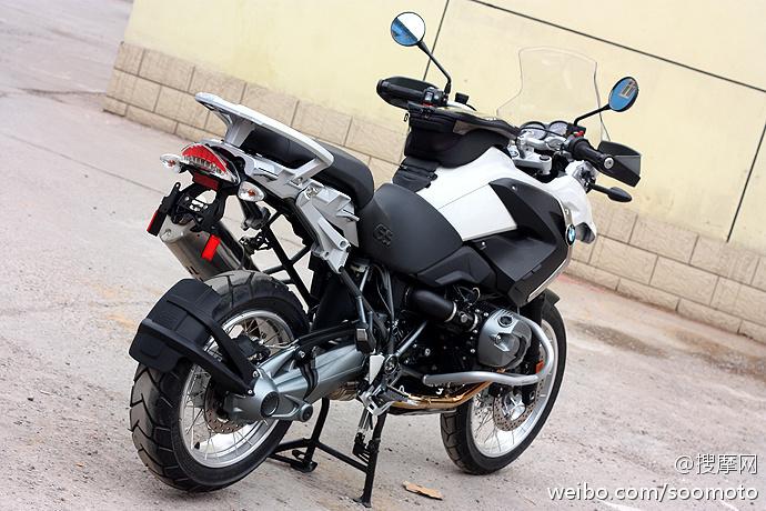 新到2011款 宝马 BMW-R1200GS 高配 白色 原板原漆 只行驶两千余英里 十多万元 R1200GS图片 3