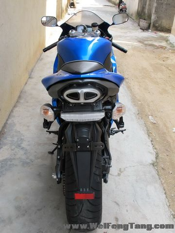 2008款蓝色川崎ZX-6R全部原装 蓝色 2800多英里 Ninja ZX-6R图片 2