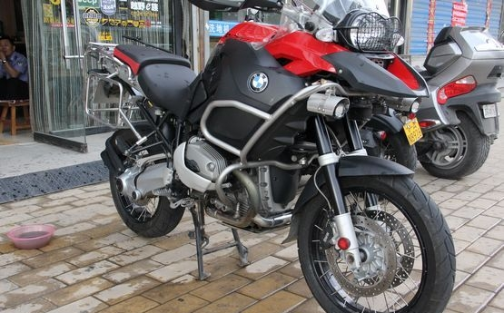 出售黑色宝马GS1200 三万多公里 R1200GS图片 2