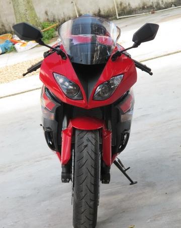 新到2012款川崎忍者Ninja  ZX-6R 黑红色 Ninja ZX-6R图片 2