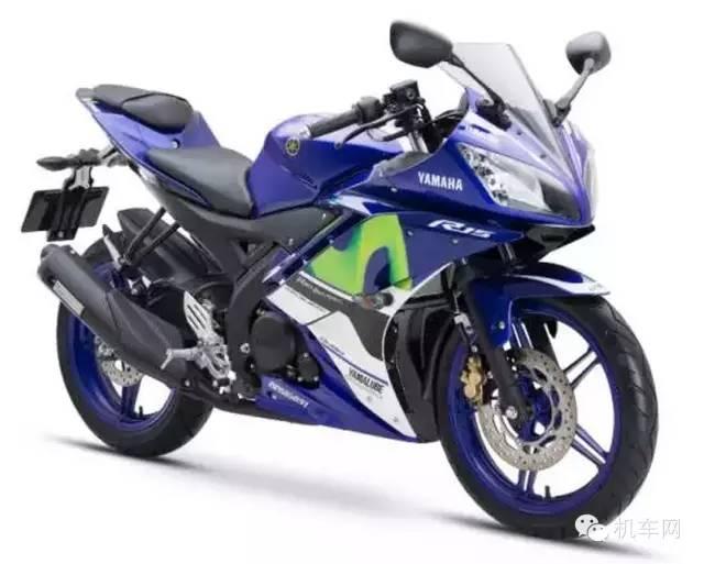 雅马哈YZF-R15摩托车