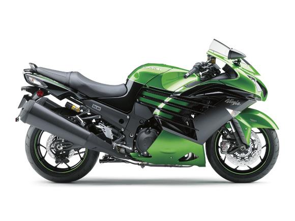 川崎Ninja ZX-14R摩托车