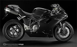 杜卡迪848摩托车车型图片视频