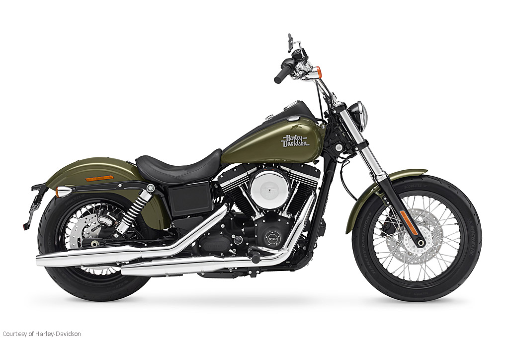 2016款哈雷戴维森Dyna Street Bob - FXDB摩托车