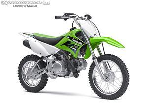 2014款川崎KLX110摩托车