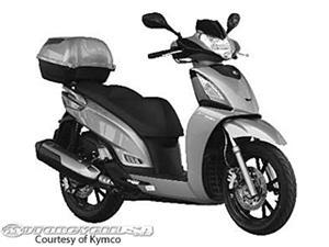 光阳People GT 200i摩托车