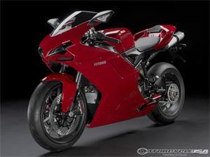 2009款杜卡迪1198摩托车