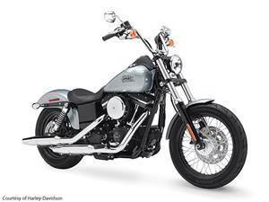 2015款哈雷戴维森Dyna Street Bob - FXDB摩托车