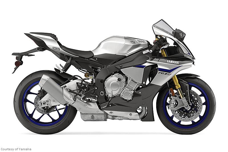 雅马哈YZF-R1M摩托车