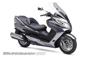 铃木Burgman 400摩托车
