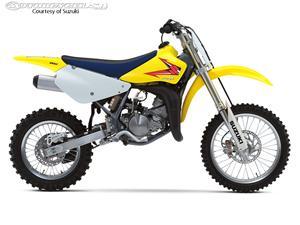 2013款铃木RM85摩托车